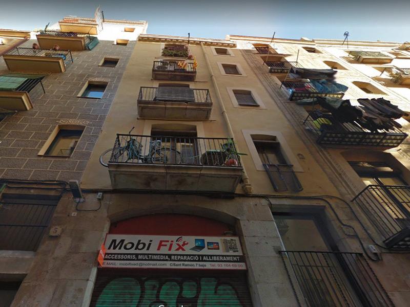 Departamento reformado en el centro de Barcelona.
