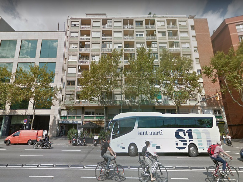 Estudio reformado en el centro de Barcelona.