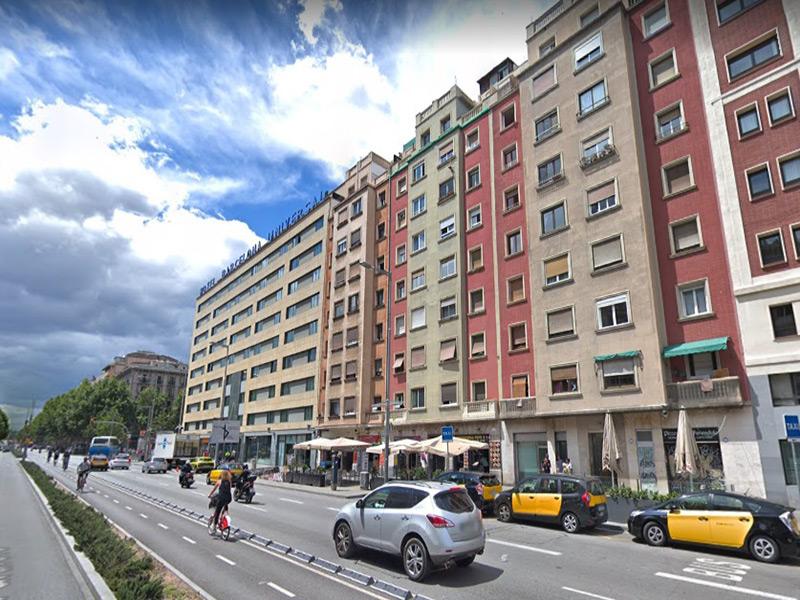Luminoso departamento cerca del puerto de Barcelona