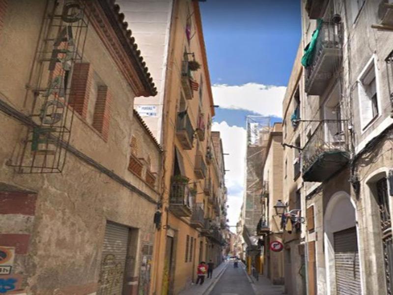 Departamento en el casco antiguo de Barcelona.