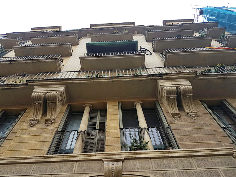 Restored flat of 45.00 m2 in L'Eixample, el Fort Pienc