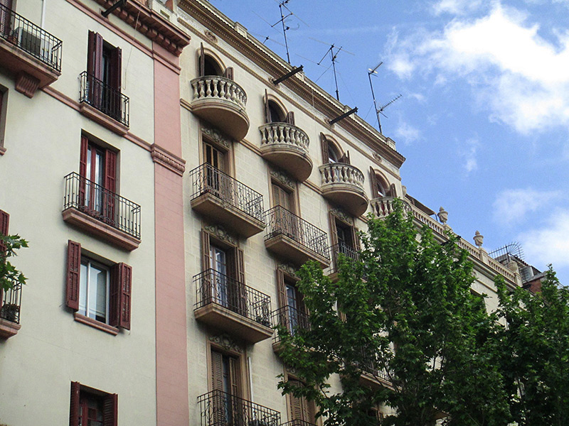 Original flat of 50 m2 in L'Eixample, Sagrada Familia