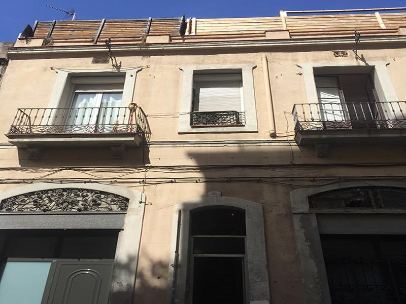 Departamento con terraza cerca de Paseo San Juan.