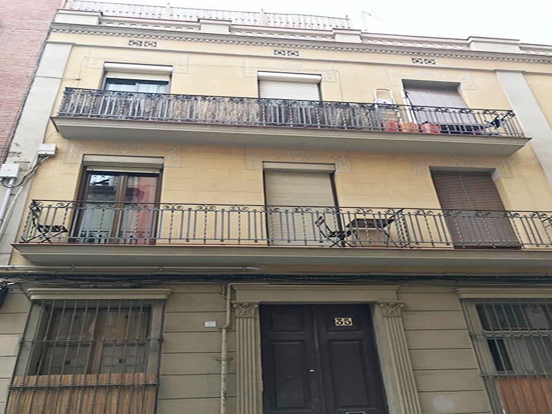 Bonito departamento con terraza en Gracia.