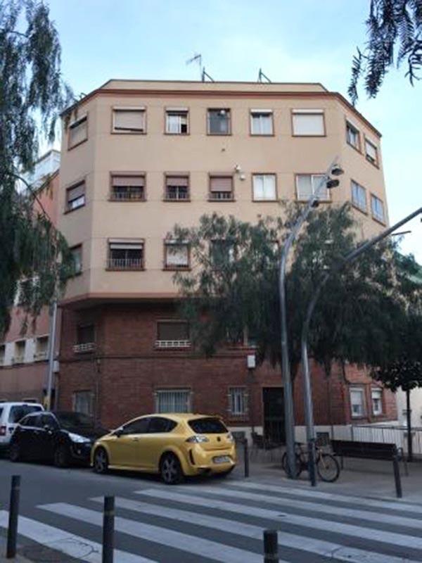 Departamento con impresionantes vistas de Barcelona