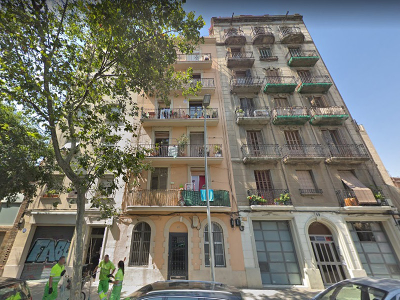Restored flat of 45 m2 in Sant Martí, Poblenou